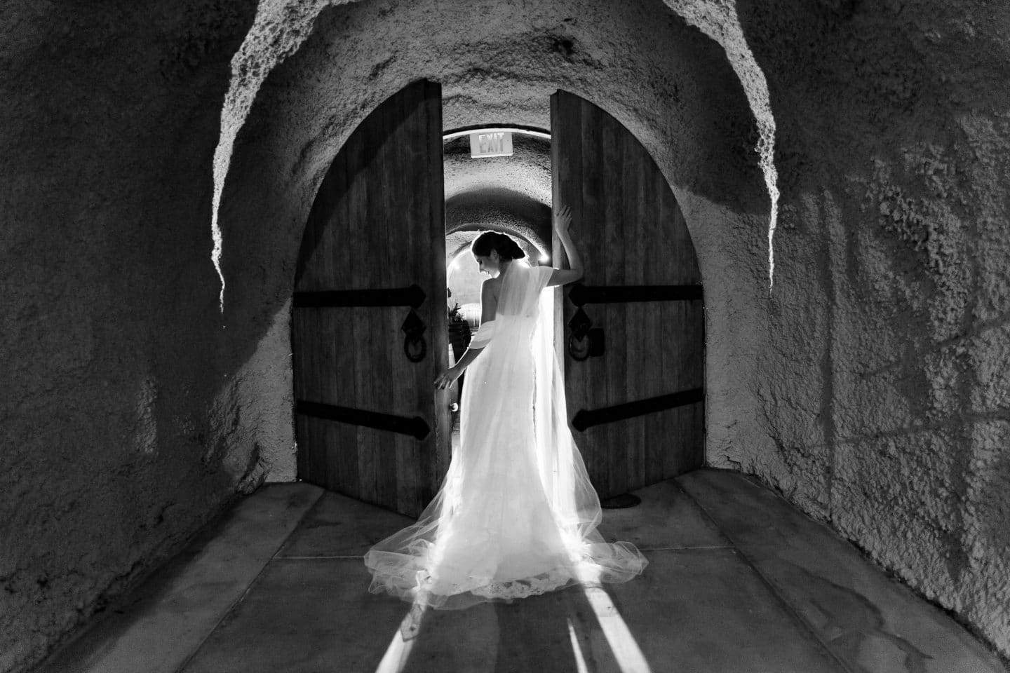 Cottonwood winery wedding picture