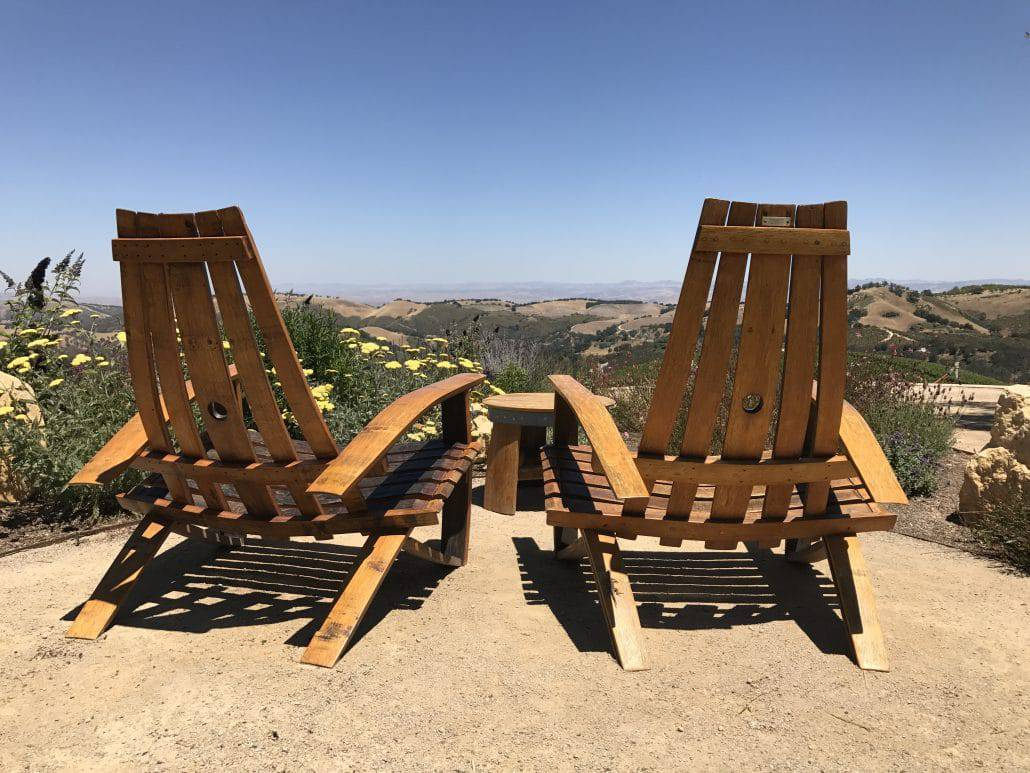 Chairs and Vineyard homepage