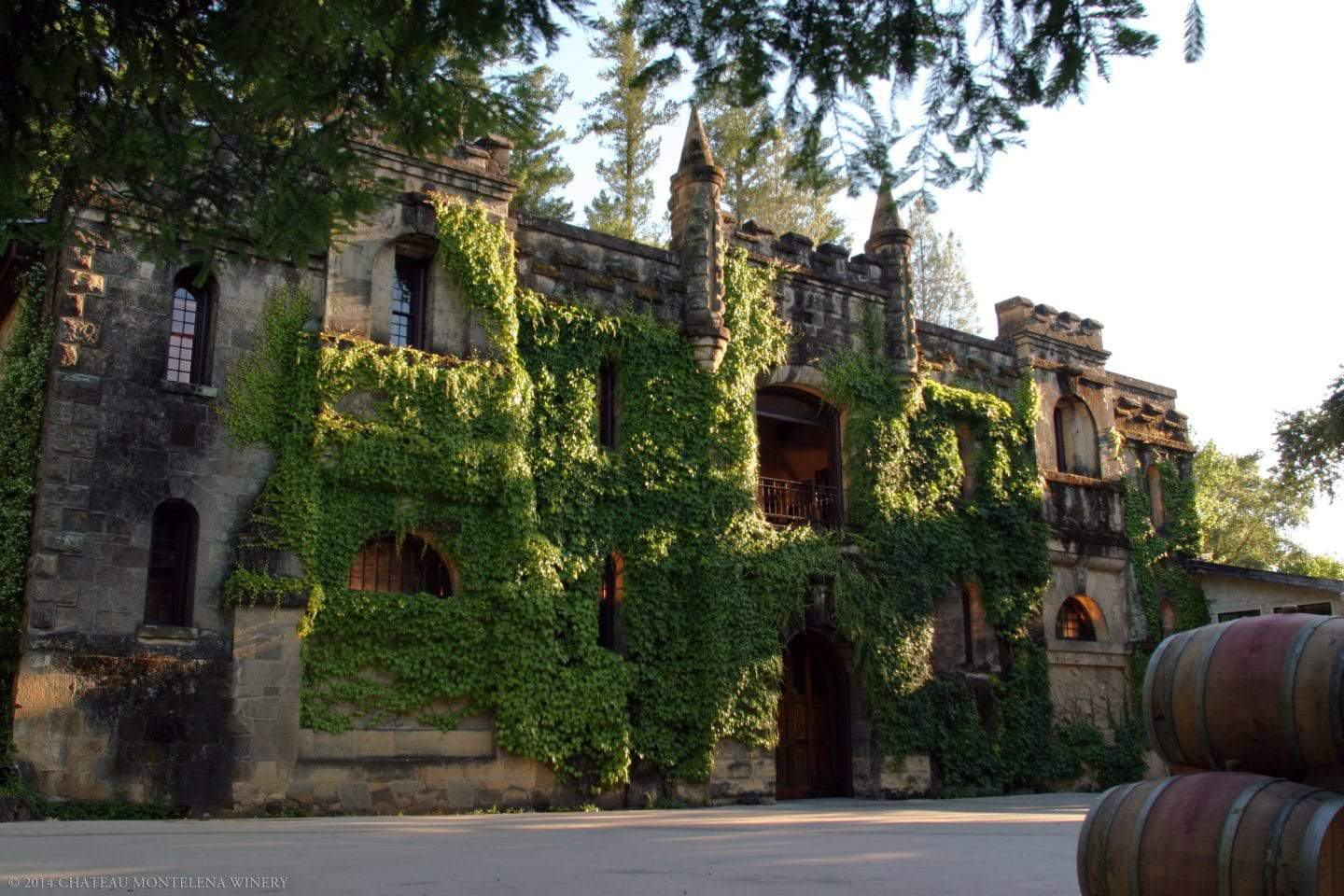 beautiful california winery montelena