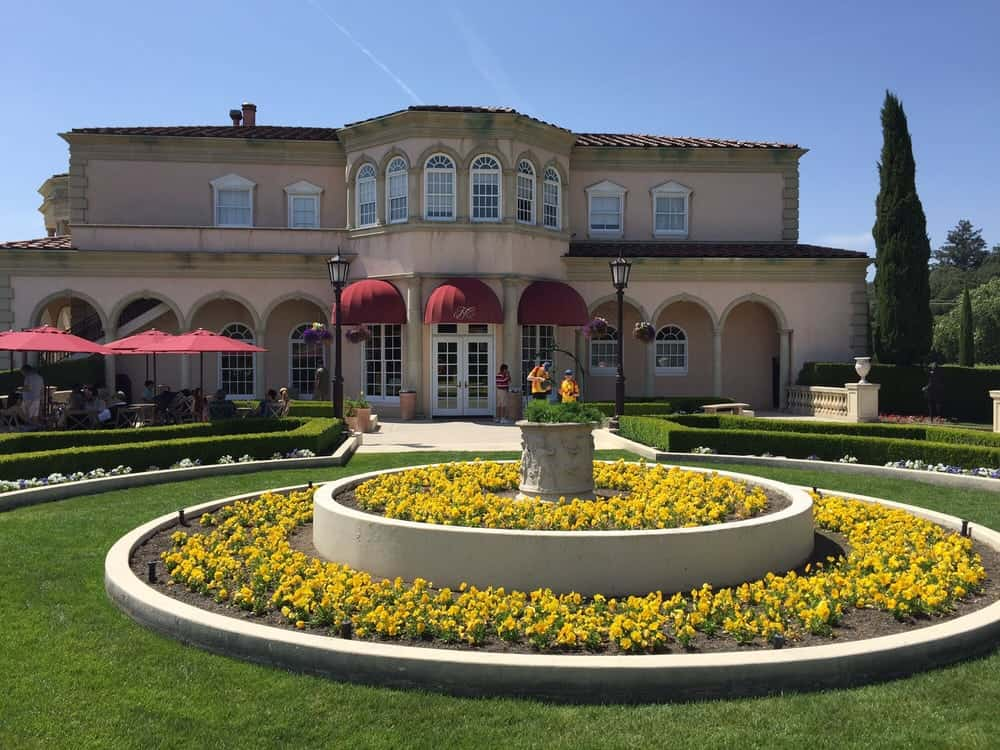 beautiful ferrari carano winery