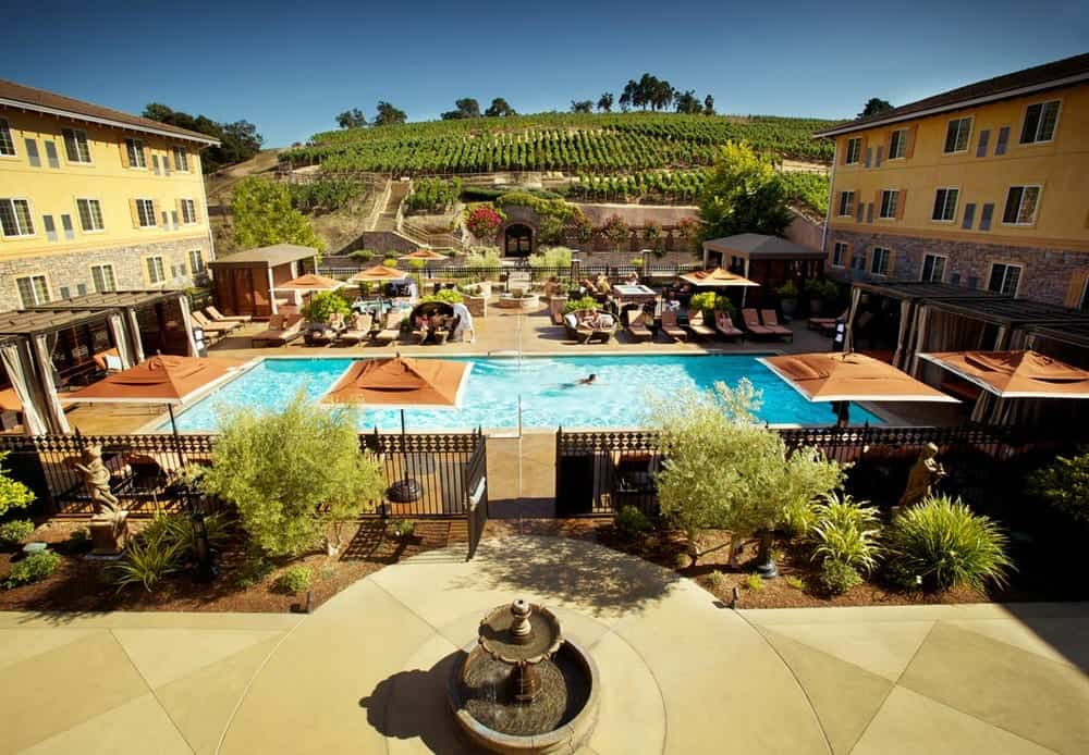 The meritage hotel napa valley budget hotels