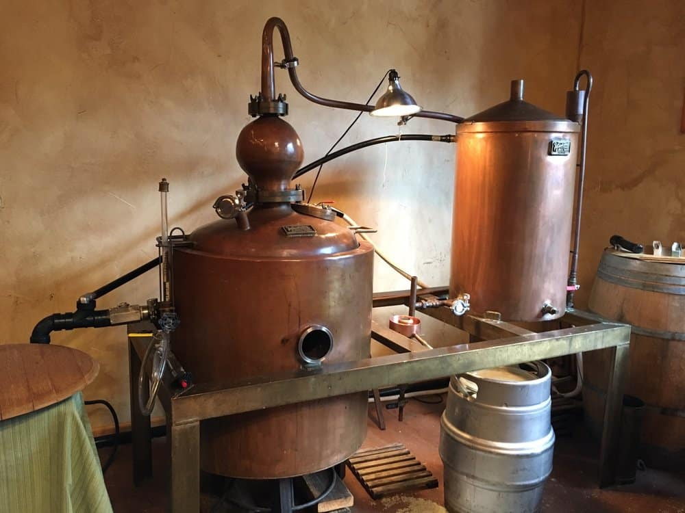 california craft distillery visit